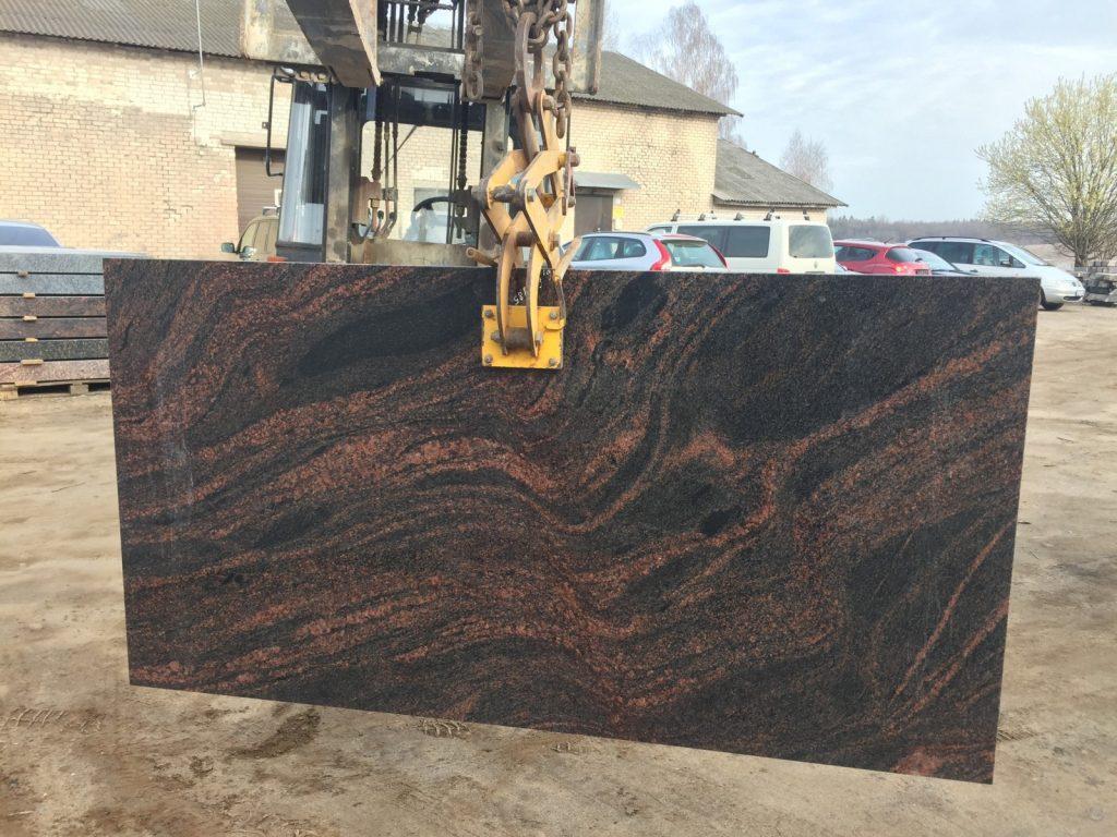 granitela akmens plokstes